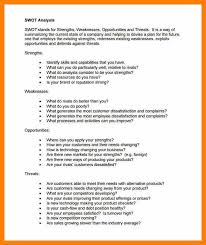 swot analysis example examples of swot analysis 5 personal swot analysis example pdf nurse homed