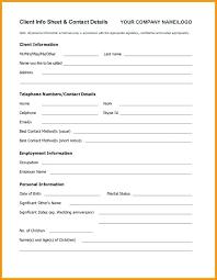 Customer Form Template New Customer Setup Form Template Socialrovr Com