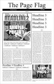 Newspaper Article Template Free Online Newspaper Design Software Free Online Newspaper Generator