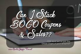 Bogo Chart Bogo Stacking Cheat Chart How To Shop For Free With Kathy