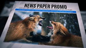 Newspaper Template After Effects Free Free Download Newspaper Promo After Effects Template Youtube