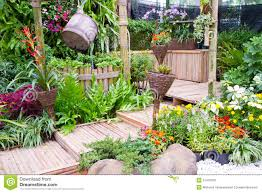 Beautiful Decoration Garden Home Small Royalty Free Stock Photos Image