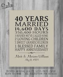 anniversary gift pas personalized by printsbychristine