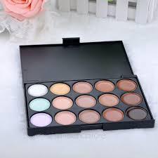 hot 15colour pro sheer concealer camouflage palette face cream makeup eyeshadow bronzer kit set ls mpj034 makeup bag makeup eyeliner makeup clear