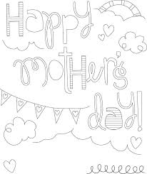 Small Picture Here is a collection of some Mothers Day coloring pages which