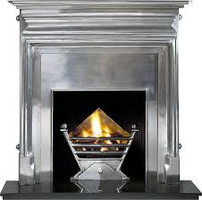 Art Deco Fireplace Surround Porcelain CoatedArt Deco Fireplace