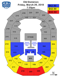 Chaifetz Arena Seating Chart Phish Events Old Dominion Ayc Future Point