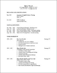 Experienced Nurse Resume Examples. Care Unit Registered Nurse