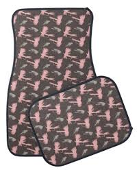 girly car floor mats. Contemporary Floor Girly Pink Fly Fishing Themed Car Floor Mats Inside Car Floor Mats L