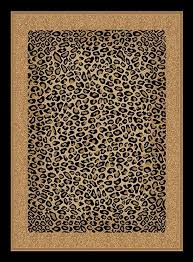 creative home area rugs safari rug 4228 90 black leopard transitional rugs area rugs by style free at powererusa com