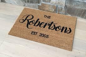 ... Door Mats / Welcome Mat / Personalized Doormat / Custom Door Full size