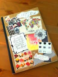 Diy Journal Cover Design Ideas Diy Collage Journal Cover Diy Notebook Cover Scrapbook