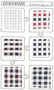 Zentangle Patterns Step By Step Custom Inspiration Design