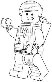 Small Picture The LEGO Movie Coloring Pages lego minifigures Lego movie
