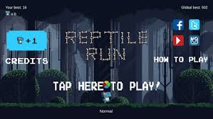 Reptile Run] by Felix Quinn-Allan