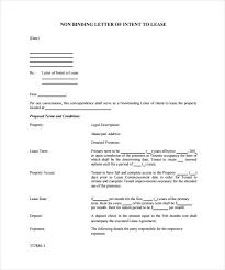 Letter Intent Tomyumtumweb com Real Lease Of Estate Sample