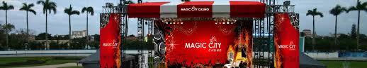 Magic City Casino Miami Seating Chart Venue Information Magic City Casino