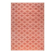 geometric rug pattern. Flamingo Pink Geometric Rug Pattern C