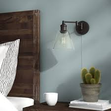 bedroom wall sconces. Sconces You Ll Love Wayfair Within Bedroom Wall Idea 5