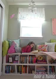 girl bedroom seating area