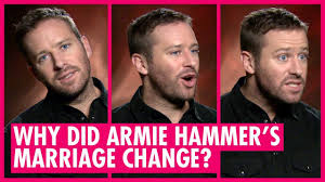 Armie hammer apologized to the miss cayman island universe committee for referring to a scantily armie hammer asked a judge to order him joint custody of his two children with estranged wife. Find Out Why Armie Hammer S New Film Changed His Marriage On The Basis Of Sex Interview Youtube