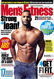 ricky whittle covers the july 2017 issue of men s fitness uk