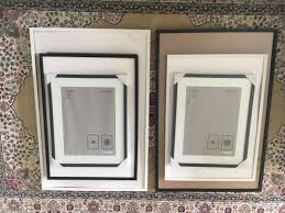 ikea ribba picture frames black white various sizes home