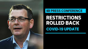 Premier daniel andrews is addressing the media. Daniel Andrews Eases Restrictions In Victoria After Ninth Day Of Zero New Covid 19 Cases Abc News Youtube