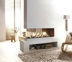 three sided fireplace design two sided corner fireplace pictures