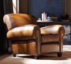 pottery barn manhattan leather club chair review. pottery barn manhattan leather club chair review