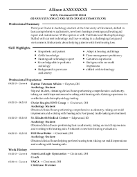 speech language pathologist resume example  restore therapy    xxxx x  speech pathology and audiology