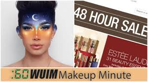 james charles s big announcement today huge at macy s makeup minute