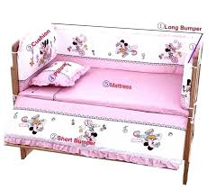 minnie mouse baby crib set crib bedding set mouse hot baby bedding sets include pillow pers minnie mouse baby