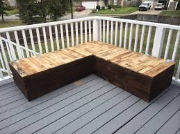 easy to make deck furniture diy outdoor pallet sofa jenna burger stairs plans easy deck