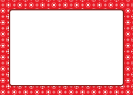 Christmas Card Template Clipart Letter Red Text
