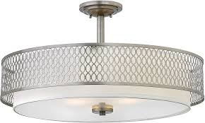 architecture outstanding brushed nickel drum chandelier 18 amazing hinkley fr35604bni jules contemporary drop inside 22 brushed