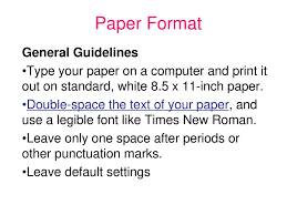 Mla Guide From Owl At Purdue See The Edline Writing Help Link To