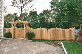 decorative wood fence panels
