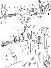 Dewalt dw505 type 2 parts schematic