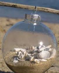 Easy--DIY Christmas Beach or Vacation Ornament*** To get the sand