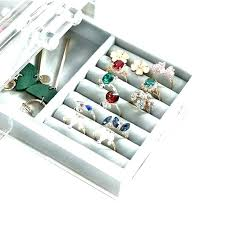 closet jewelry organizer tray necklace drawer best ideas on california orga