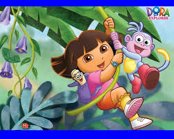 dora the explorer 3 wallpaper