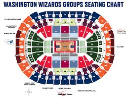 Verizon Center Seating Chart Wizards 62 Unbiased Wizards Seating Chart With Rows
