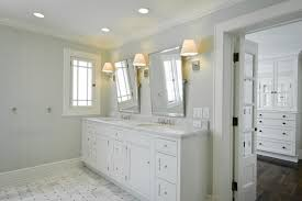 White Floor Bathroom Cabinet Top White Marble Bathroom Floors Gray Walls Marble Basketweave