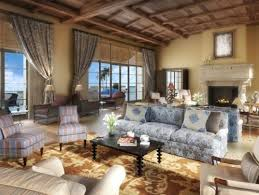 Beach Family Room Living Room Beach Style With Teal Color Scheme Living Room Conversation Area