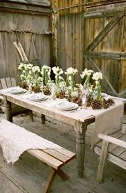 shabby chic outdoor furniture. Rustic Outdoor Table Settings Shabby Chic Dining Rooms Outd On Beautiful Images Tabl Furniture