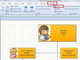 How To Create Organization Chart In Excel 2013 Using Organization Data Pictures And More On Layouts In