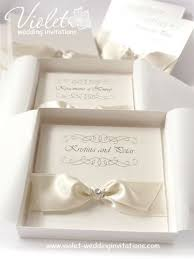 best 25 box wedding invitations ideas only on pinterest box Wedding Invitation With Box ivory wedding invitations pearlescent invitation in a box from www violet wedding invitation with bow