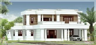 Kerala Flat Roof House Design Spanish Style Villas Google Search Kerala House Design