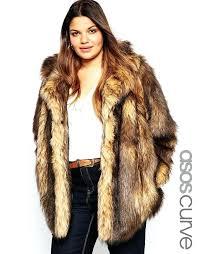 faux fur jacket plus size women